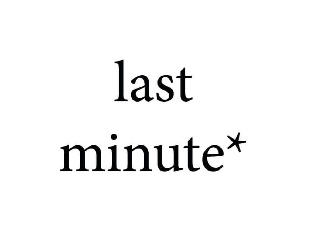 "Unsere ""last minute"" Kurs-Angebote"